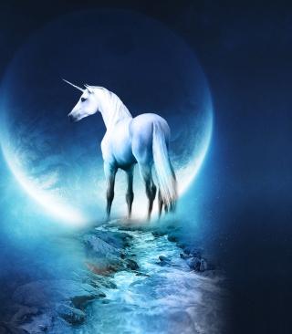 Last Unicorn - Obrázkek zdarma pro 128x160