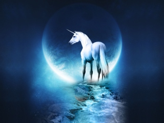 Last Unicorn - Obrázkek zdarma pro Samsung Galaxy Tab 3