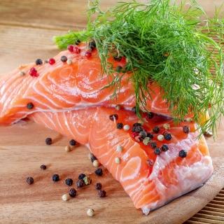 Salmon Dish - Obrázkek zdarma pro 2048x2048