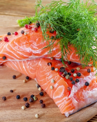 Salmon Dish - Obrázkek zdarma pro Nokia Asha 311
