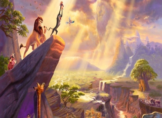 The Lion King Background for Android, iPhone and iPad