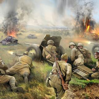 World War II Barbarossa 1941 - Obrázkek zdarma pro iPad Air