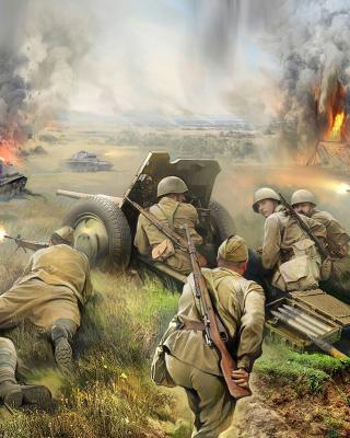 World War II Barbarossa 1941 - Obrázkek zdarma pro 640x960