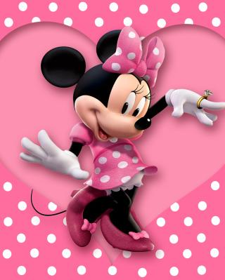 Minnie Mouse Polka Dot - Obrázkek zdarma pro Nokia X3