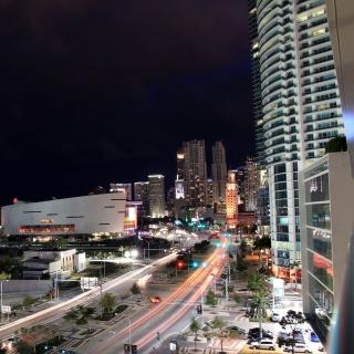 Miami City - Obrázkek zdarma pro 208x208