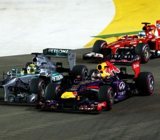Singapore Grand Prix - Formula 1 - Obrázkek zdarma pro 208x208