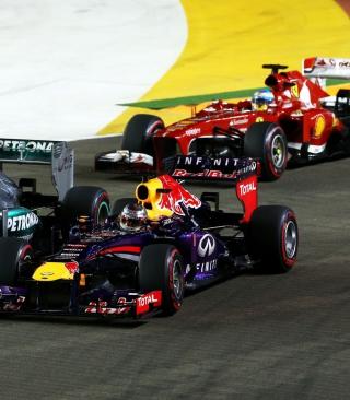 Singapore Grand Prix - Formula 1 - Obrázkek zdarma pro iPhone 4