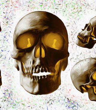 Golden Bones - Obrázkek zdarma pro 128x160