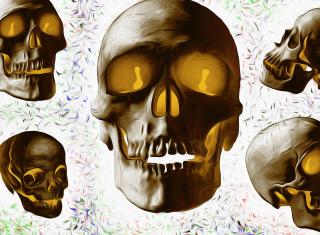Golden Bones - Obrázkek zdarma pro Samsung Galaxy A