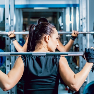 Fitness Gym Workout - Obrázkek zdarma pro iPad mini 2