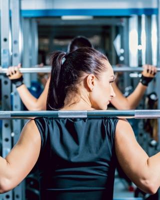 Fitness Gym Workout - Obrázkek zdarma pro Nokia 300 Asha
