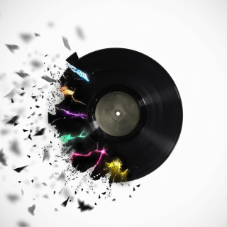 DJ Vinyl - Obrázkek zdarma pro iPad 2
