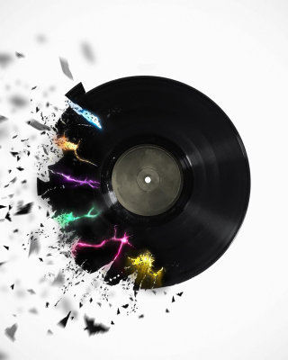 DJ Vinyl - Obrázkek zdarma pro iPhone 5S