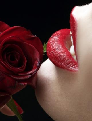 Red Rose - Red Lips - Obrázkek zdarma pro Nokia Lumia 2520