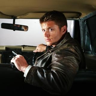Supernatural, Dean Winchester, Jensen Ackles - Obrázkek zdarma pro iPad mini 2