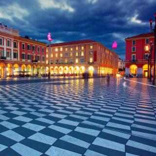 Place Massena, Nice - Obrázkek zdarma pro 128x128