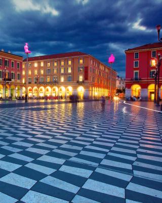 Place Massena, Nice - Obrázkek zdarma pro 480x640