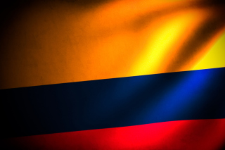 Colombia Flag Background for Android, iPhone and iPad