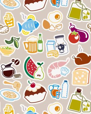 Food Texture - Obrázkek zdarma pro Nokia C5-03