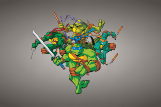 TMNT Background for Android, iPhone and iPad