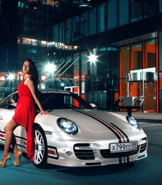 Need For Speed Most Wanted - Porsche 911 - Obrázkek zdarma pro Nokia C6-01