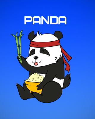 Cool Panda Illustration - Obrázkek zdarma pro Nokia Lumia 810