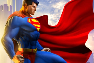 Man Of Steel Wallpaper for Android, iPhone and iPad