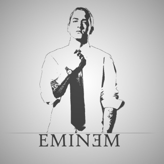 Eminem - Obrázkek zdarma pro iPad Air