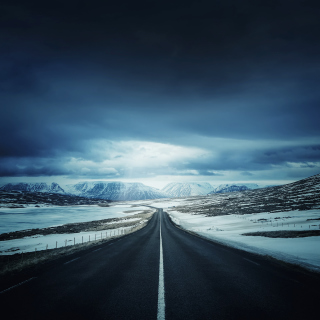Icelands Ring Road - Obrázkek zdarma pro iPad Air