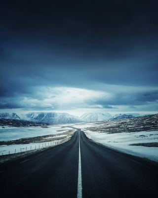 Icelands Ring Road - Obrázkek zdarma pro iPhone 4S