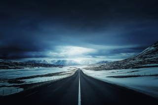 Icelands Ring Road - Obrázkek zdarma pro Motorola DROID 3