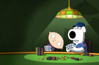 Family Guy Poker Picture for Android, iPhone and iPad