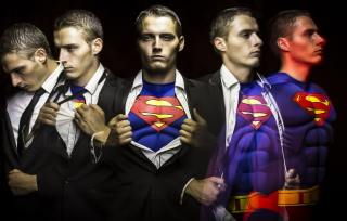 Superman Background for Android, iPhone and iPad