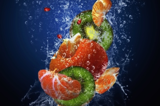 Fresh Fruit Cocktail Wallpaper for Android, iPhone and iPad