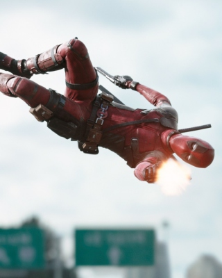 Deadpool Movie 2016 - Obrázkek zdarma pro Nokia Asha 300