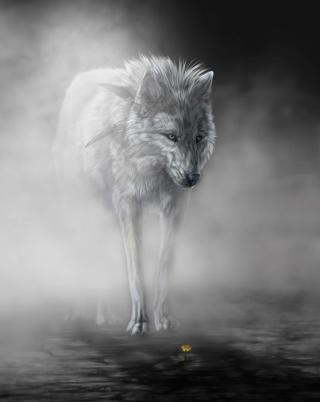 Lonely Wolf - Obrázkek zdarma pro Nokia 5800 XpressMusic