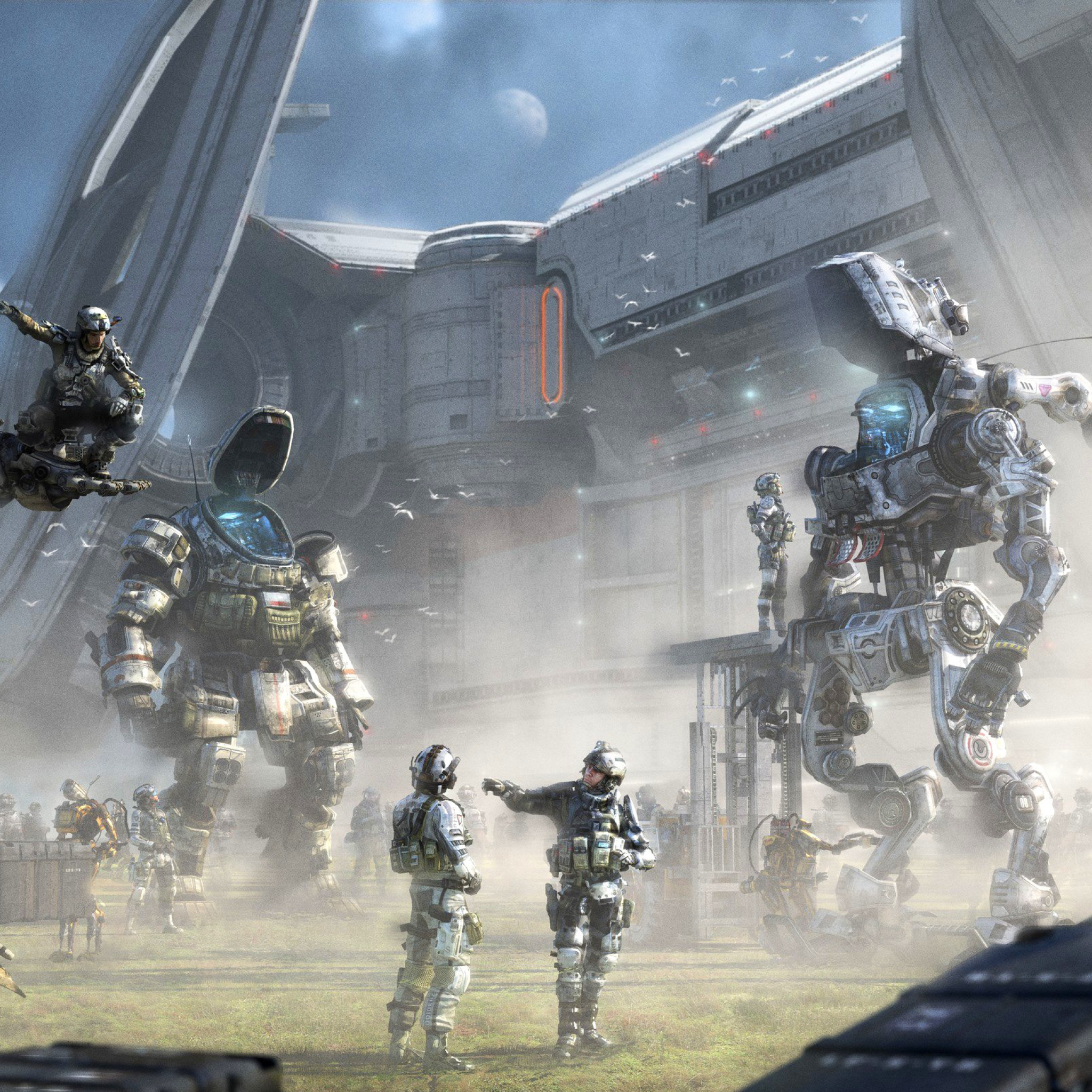 Titanfall wallpaper ipad mini