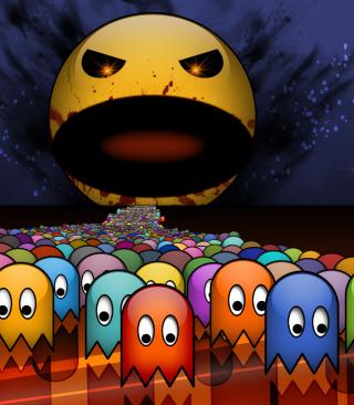 Pacman - Obrázkek zdarma pro Nokia Asha 501