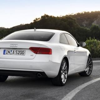 Audi A5 Coupe Rear View - Obrázkek zdarma pro 2048x2048