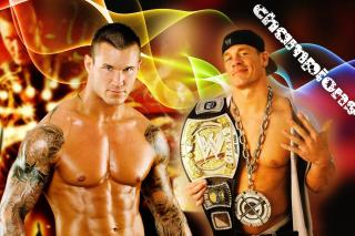 John Cena vs Randy Orton - Obrázkek zdarma pro HTC One