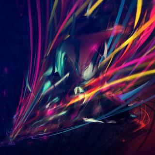 3D Colorful Abstract - Obrázkek zdarma pro iPad mini
