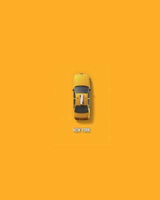 New York Cab - Obrázkek zdarma pro Nokia Asha 303