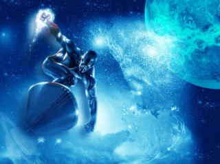 Silver Surfer Picture for Android, iPhone and iPad
