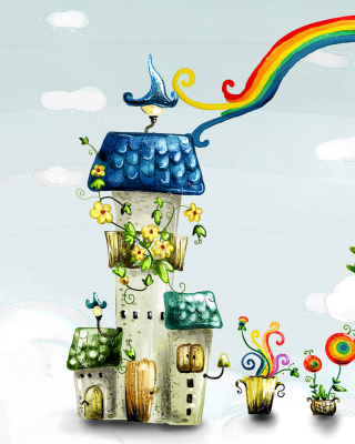 Cartoon World - Obrázkek zdarma pro Nokia 206 Asha