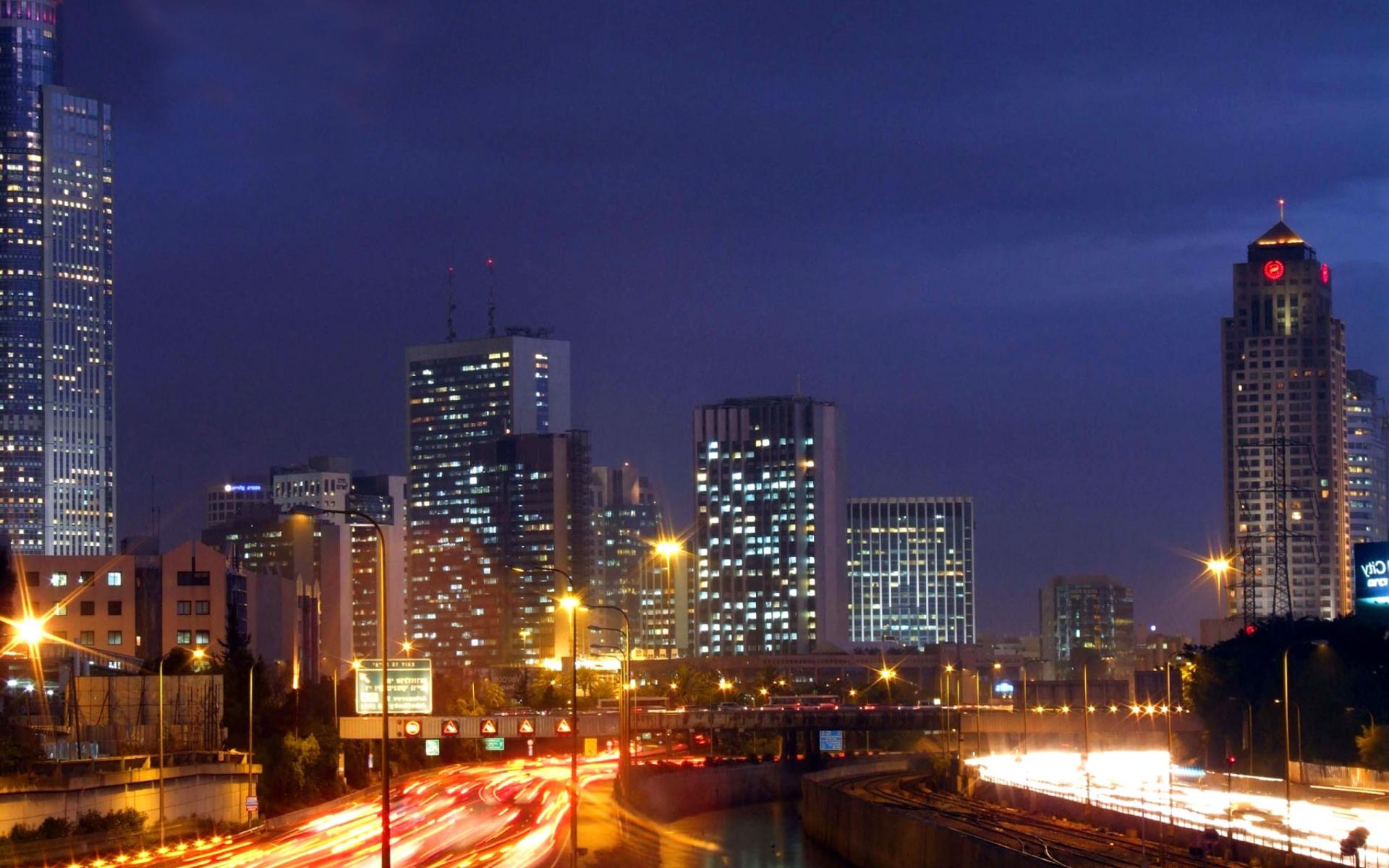 Tel Aviv Hd: Tel Aviv Wallpaper For Widescreen Desktop PC 1920x1080 Full HD