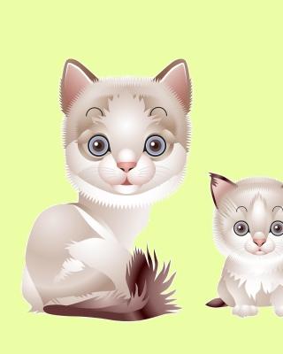 Hipster Cat Clip Art - Obrázkek zdarma pro Nokia 206 Asha