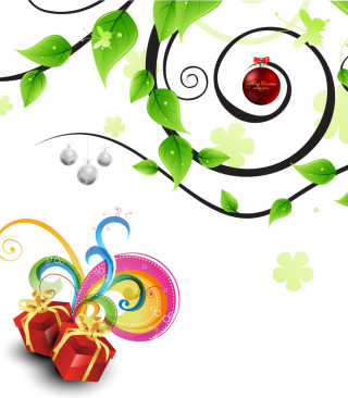 Joyful Merry Christmas - Obrázkek zdarma pro Nokia C-Series