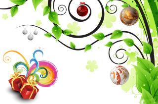 Joyful Merry Christmas - Obrázkek zdarma pro Nokia Asha 302