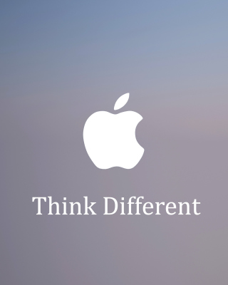 Apple, Think Different - Obrázkek zdarma pro Nokia C-Series