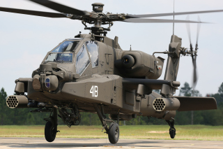 Boeing AH 64 Apache Background for Android, iPhone and iPad
